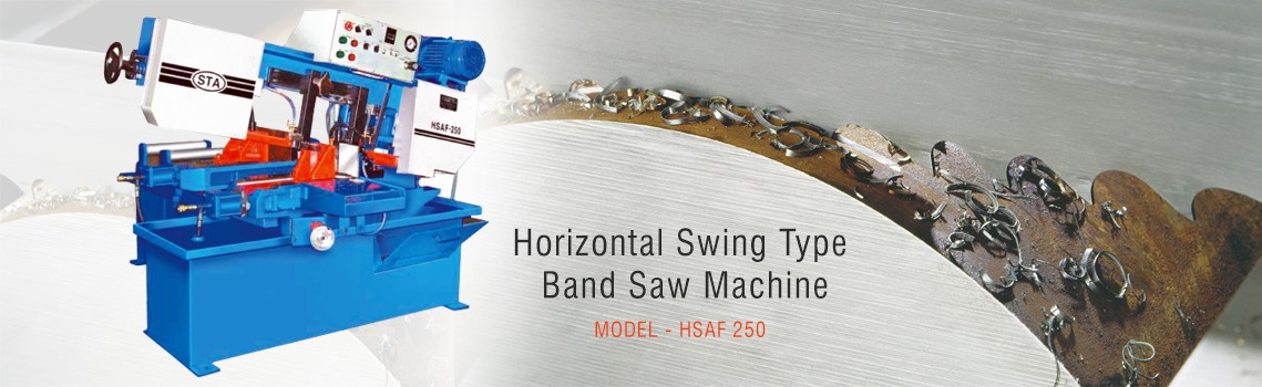 Horizontal Swing Type Band Saw Machines